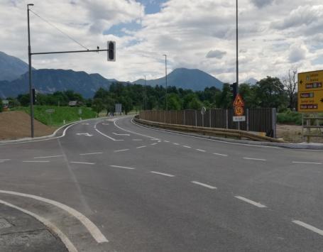 Protihrupna ograja Bled