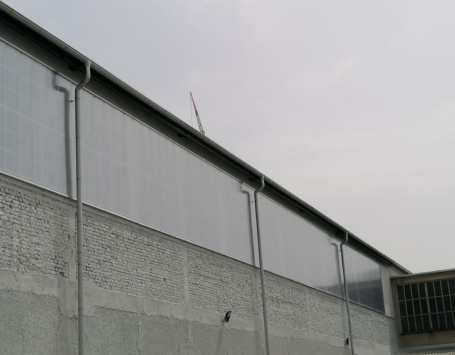 Polikarbonatna modularna fasada Ljubljana